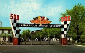 Indiana Indianapolis Motor Speedway Main Gate