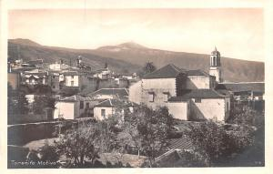 Spain Old Vintage Antique Post Card Tenerife Motivo Real Photo Unused