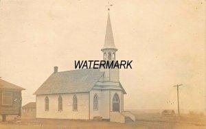 CHURCH~WRIGHT'S STUDIO-SIOUX FALLS SOUTH DAKOTA 1910s REAL PHOTO POSTCARD