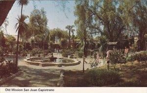 San Juan Capistrano Mission Courtyard Los Angeles California 1984