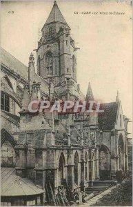 Old Postcard Caen Le Vieux St Etienne
