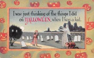 Publisher Gibson Line Halloween Unused