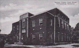 Kentucky Williamsburg Whitley County Court House Dexter Press