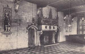 Interieur De l'Hotel De Ville, Salle Du Peuple, Audenarde, East Flanders, Bel...