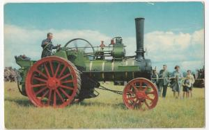 Steam; Marshall Agricultural Engine, 'Old Timer' Built 1902 PPC, Unused
