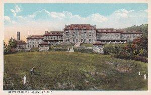 ASHEVILLE , North Carolina , 1910s ; Grove Park Inn