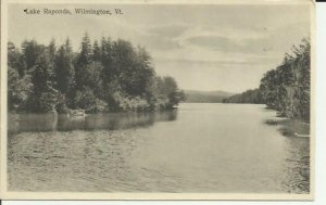 Wilmington, Vt., Lake Raponda