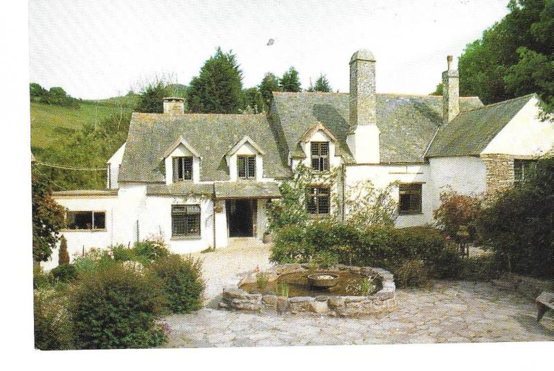 England -  Chambercombe Manor, Ilfracombe,Devon,England  c 1960s unused #071