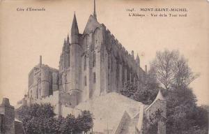 L'Abbaye, Vue De La Tour Nord, Mont Saint-Michel (Manche), France, 1900-1910s