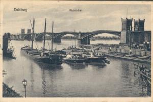 Germany - Duisburg Rheinbrücke 01.83