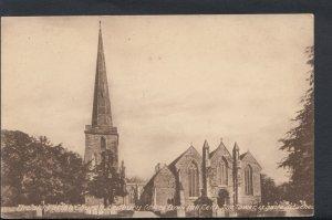 Herefordshire Postcard - The Old Parish Church, Ledbury     RS6749