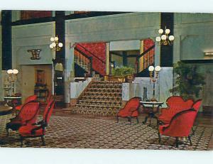Unused Pre-1980 LINCOLN HOTEL Lincoln Nebraska NE Q4530