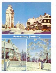 3-Views, Auersberg, Saxony, Germany, 50-70s