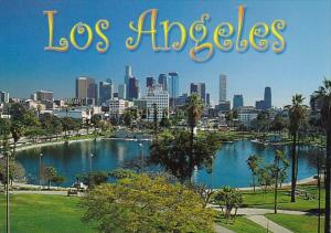 California Los Angeles Greetings from MacArthur Park
