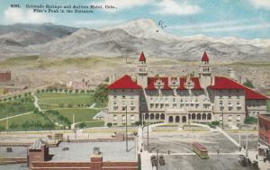 COLORADO SPRINGS , 1910 ; Antlers Hotel