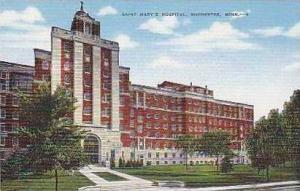 Minnesota Rochester Saint Marys Hospital