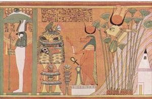 Mayers Papyrus Series Psiris Saker Within A Shrine Goddess Hathor