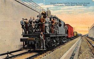 Electric engine Detroit, Michigan, USA Railroad, Misc. PU Unknown