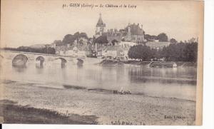 Le Chateau Et La Loire, Bridge, GIEN (Loiret), France, 1900-1910s