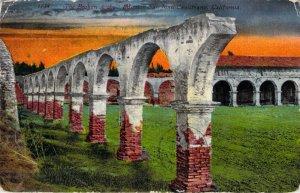 The Broken Arch Mission San Juan Capistrano California 1912 E Mitchell Postcard