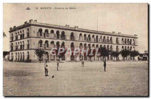 Old Postcard Tunisia Bizerte Barracks genie
