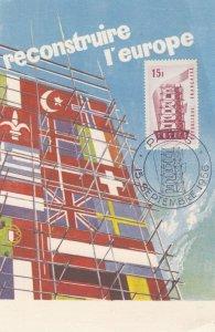 reconstruire l'europe , 1956