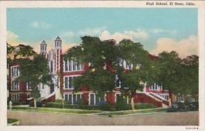 Oklahoma El Reno High School 1948 Curteich