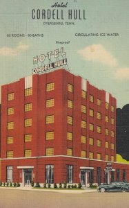 DYERSBURG , Tennessee , 1930-40s ; Cordell Hull Hotel