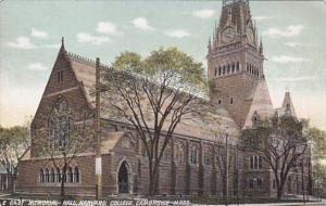 Massachusetts Cambridge Memorial Hall Harvard College