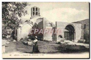 Old Postcard Arles Chapel Aliscamps
