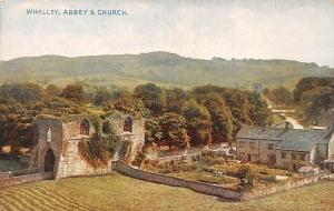 Whalley Abbey Ruins and Church General view