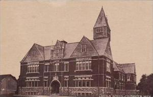 Michigan Coldwater Lincoln School 1910