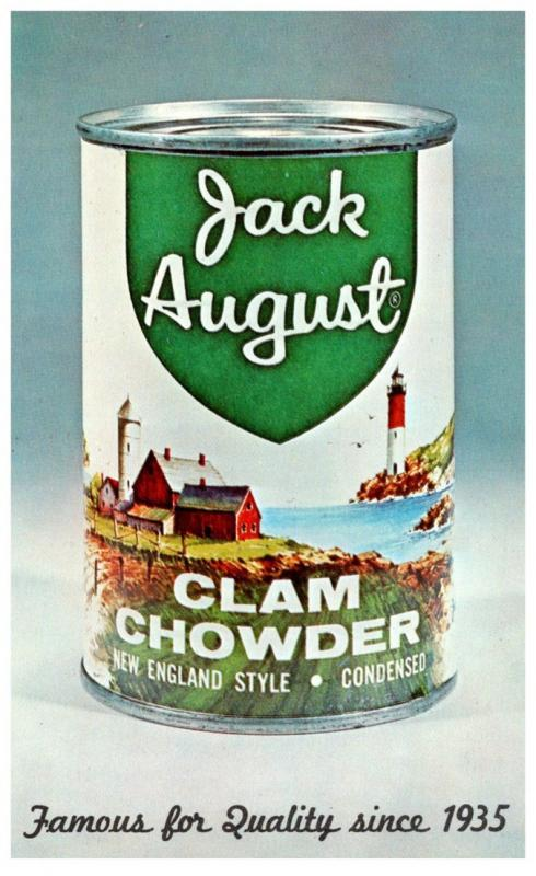 Jack August Clam Chowder