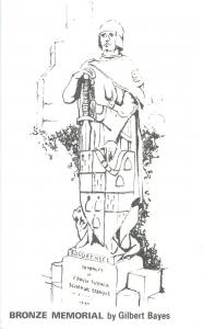 Bronze Memorial by Gilbert Bayes card