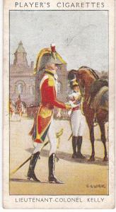 Cigarette Card Player's Dandies No 34 Lieutenant-Colonel Kelly