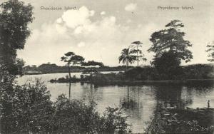 liberia, Providence Island, Panorama (1910s) Unused Stamp