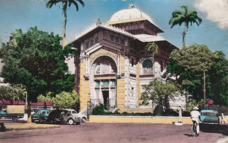MARTINIQUE , FORT-DE-FRANCE , 40-60s; Schoelcher Library