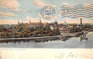Tampa Bay Hotel River Scene Tampa FL