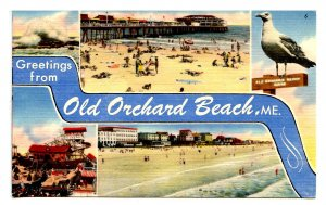 ME - Old Oarchard Beach. Multi-View