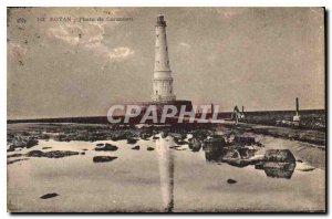 Old Postcard Royan Cordouan Lighthouse