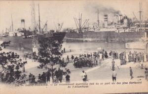 Saint-Nazaire , France , 00-10s ; Le Movement maritime