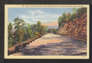 Drive,West Mountain,Hot Springs,AR Postcard