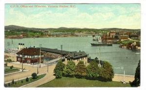 Wharves, Victoria Harbour , B.C. , Canada , PU-1910