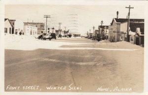 RP: NOME , Alaska , 1957 ; Front Street