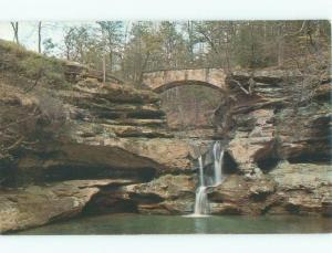 Pre-1980 WATERFALL Hocking Park In Logan - Near Lancaster & Columbus OH E4063