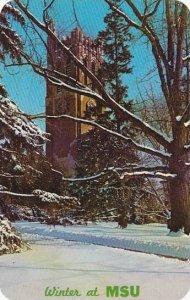 Michigan East Lansing Reaumont Tower Michigan State University