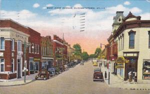Kentucky Elizabethtown West Dixie Avenue 1951