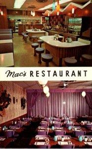 Minnesota Rochester Mac's Restaurant First Street
