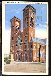 USA Cathedral of St Peter & St Paul Providence RI  CDS 1936