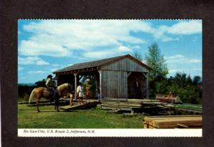 NH Six Gun City Amusement Park Horses JEFFERSON NEW HAMPSHIRE Stagecoach